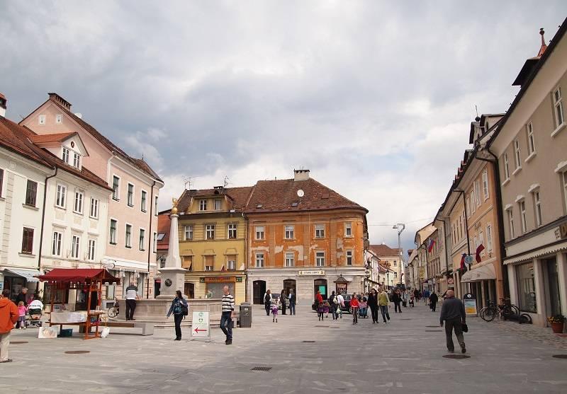 Glavni trg v Kranju