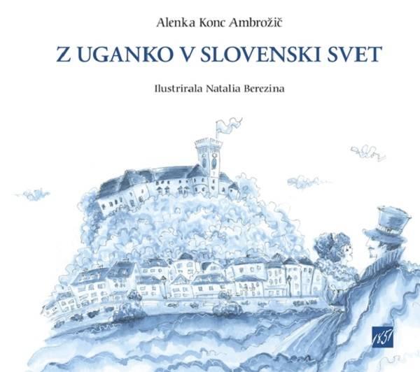 Knjiga Po Sloveniji z ugankami