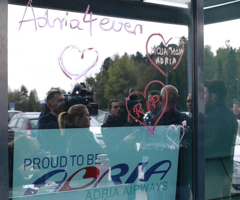 Adria Airways je lani končala v stečaju. Foto: BoBo