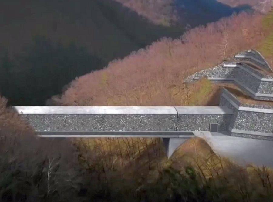 Predvideni viadukt Glinščica. Foto: MMC RTV SLO