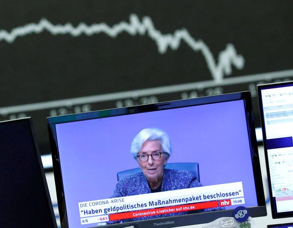 Osrednja denarna ustanova evrskega območja bo lahko s spremembo ključne omejitve posebej pomagala v času pandemije najbolj prizadetim državam, med njimi Italiji. Foto: Reuters
