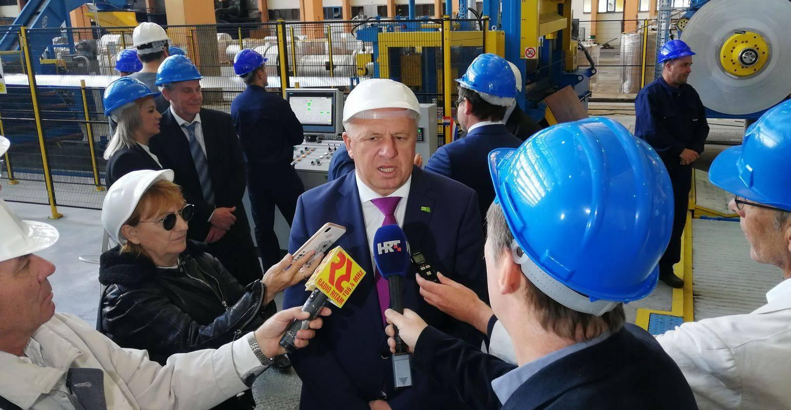 Minister za gospodarstvo Zdravko Počivalšek. Foto: Natalija Sinkovič/Impol