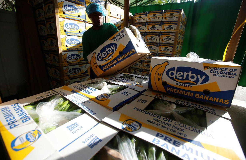V pošiljkah banan so odkrili kokain. Foto: Reuters