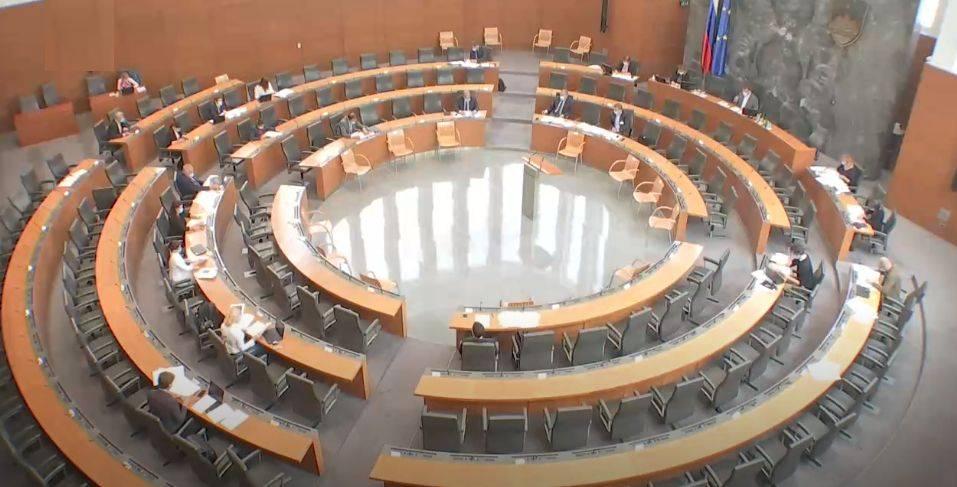 Višina posameznega posojila bo omejena in v opoziciji so jo želeli zvišati, vendar neuspešno. Foto: TV Slovenija