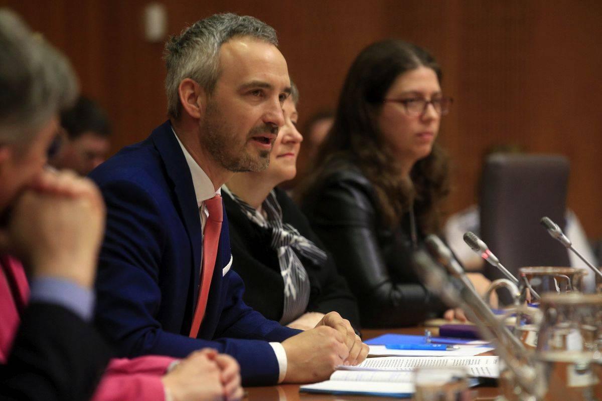 Ekonomsko-socialnemu svetu bo predsedoval minister Janez Cigler Kralj. Foto: BoBo/Borut Živulovič
