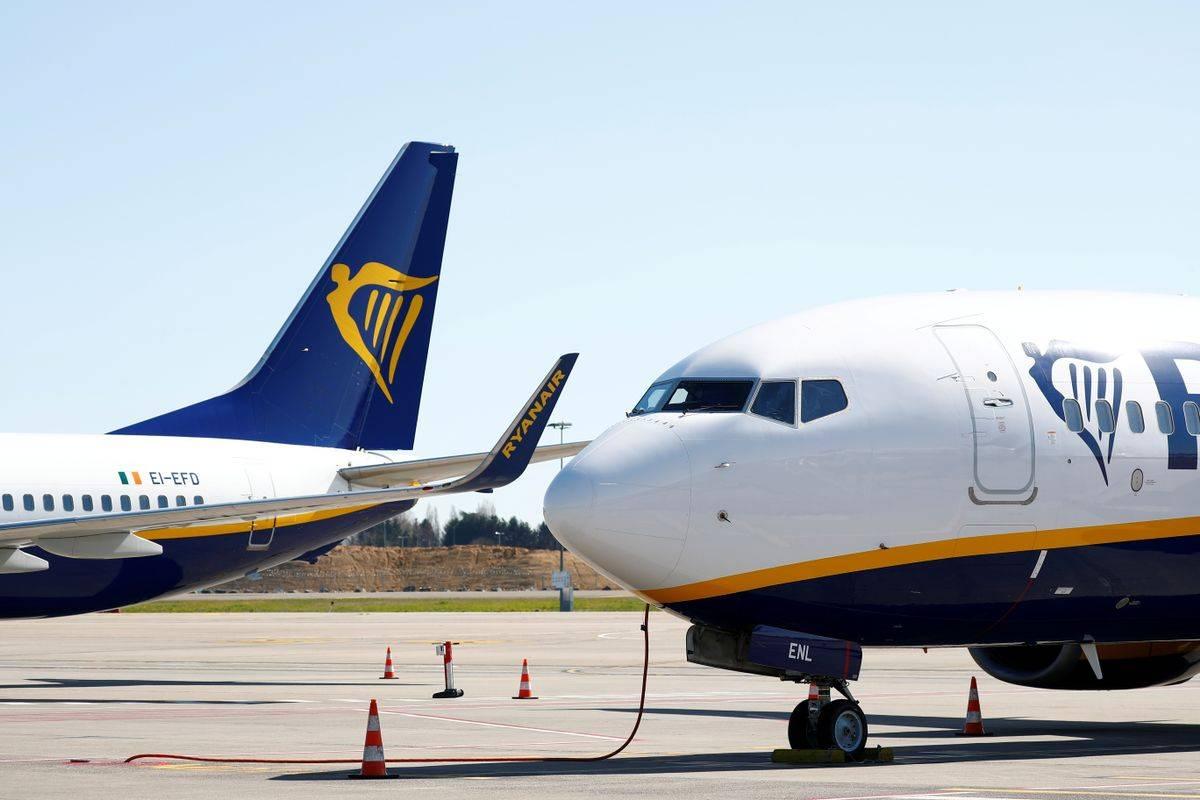 Pri Ryanairu bodo odpustili 15 odstotkov osebja. Foto: Reuters