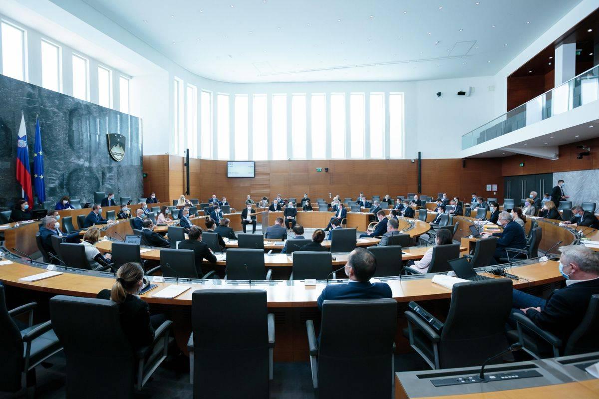 Poslanci se bodo v okviru 38. izredne seje v parlamentu zbrali ob 10. uri. Foto: DZ/Matija Sušnik