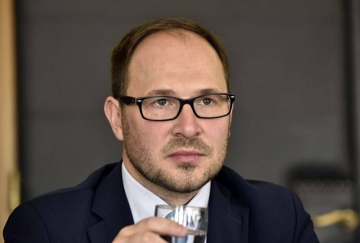Minister za infrastrukturo Jernej Vrtovec. Foto: BoBo/Žiga Živulović ml.