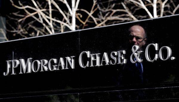 Delnice JPMorgana so se v torek podražile za pol odstotka in so vredne 98 dolarjev. Od marčevskega dna so višje za več kot 25 odstotkov. Preostali sektorji so močneje okrevali, sploh tehnološki. Foto: EPA
