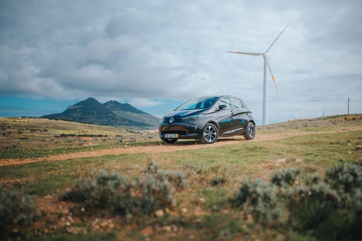Električno mestno vozilo Zoe. Foto: MMC RTV SLO/Renault