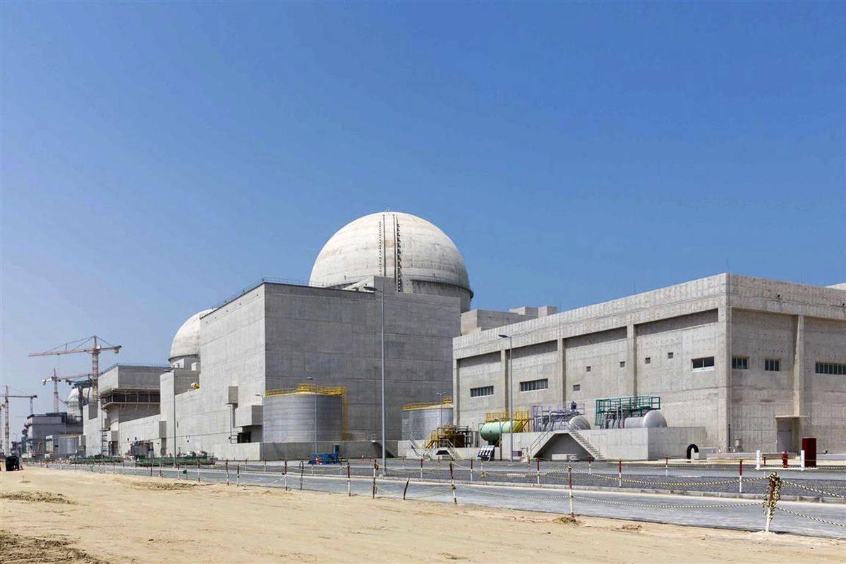 Jedrska elektrarna Barakah. Foto: AP