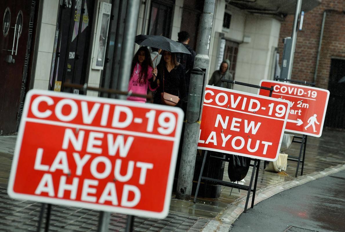 Med najmočnejšimi gospodarstvi na svetu je britansko doživelo enega največjih padcev. Foto: Reuters