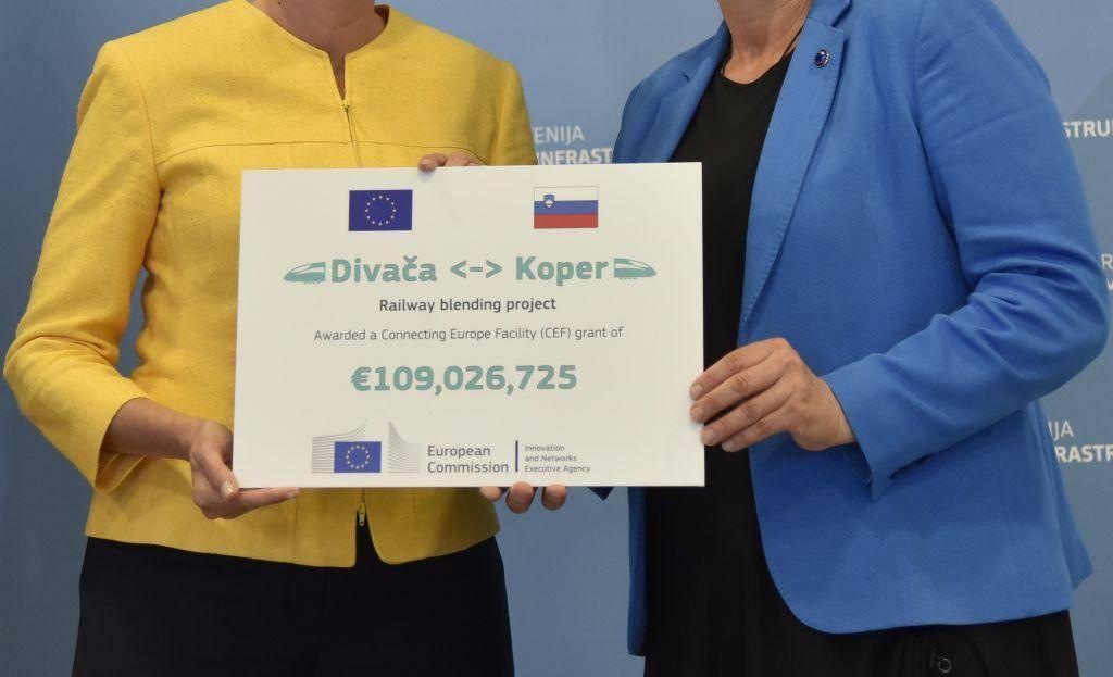 Slovenija je za projekt lani že dobila 109 milijonov evrov evropskih sredstev. Foto: BoBo