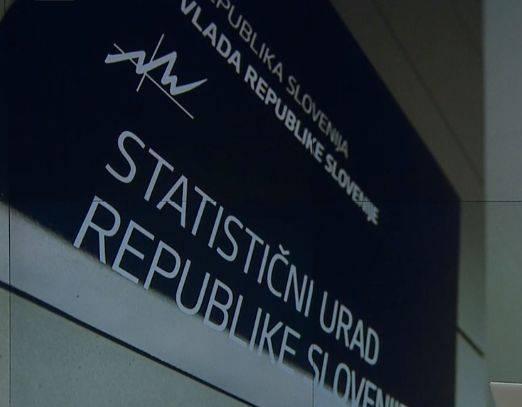 V prvi polovici leta skupno je BDP medletno upadel za 7,9 odstotka, so sporočili s Statističnega urada RS. Foto: Televizija Slovenija