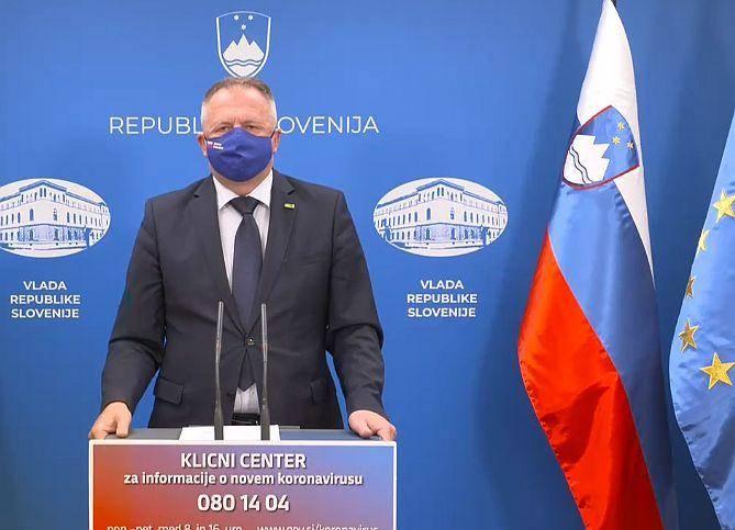 Minister Počivalšek. Foto: MMC RTV SLO