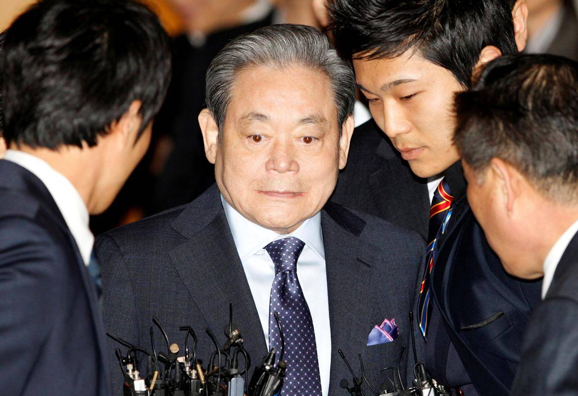 Lee Kun Hee (1942-2020). Foto: Reuters