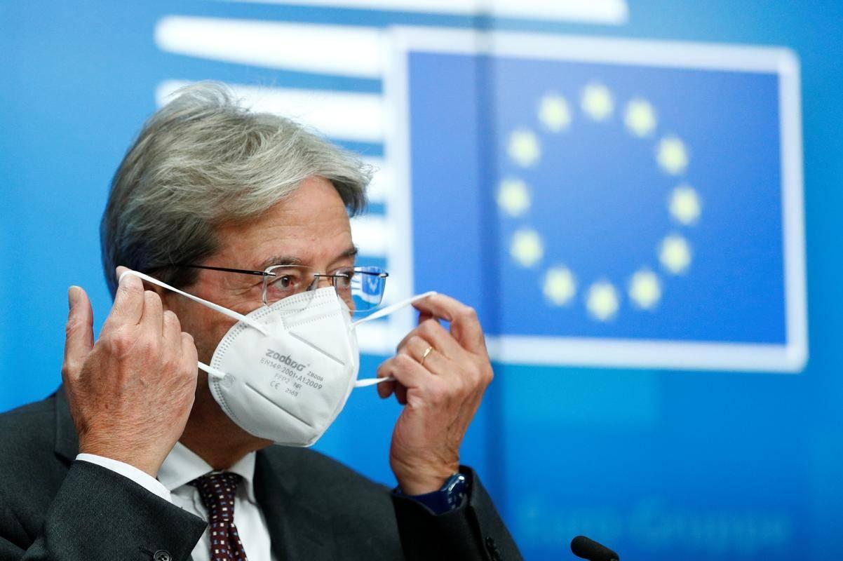 Evropski komisar za gospodarstvo Paolo Gentiloni. : Reuters