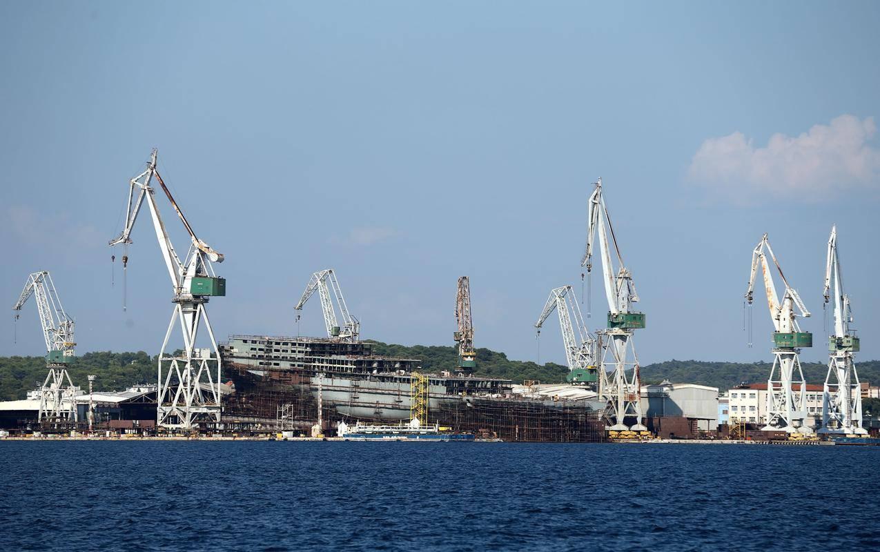 Ladjedelnica Uljanik v Pulju. Foto: Reuters