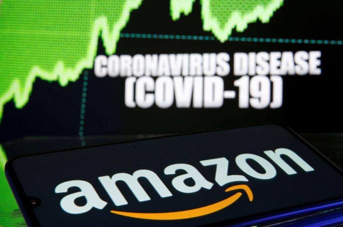 Tehnološke delnice so velike zmagovalke letošnjega leta. Amazonove so se podražile za več kot 70 odstotkov, tržna kapitalizacija podjetja znaša že 1,6 bilijona dolarjev. Foto: Reuters