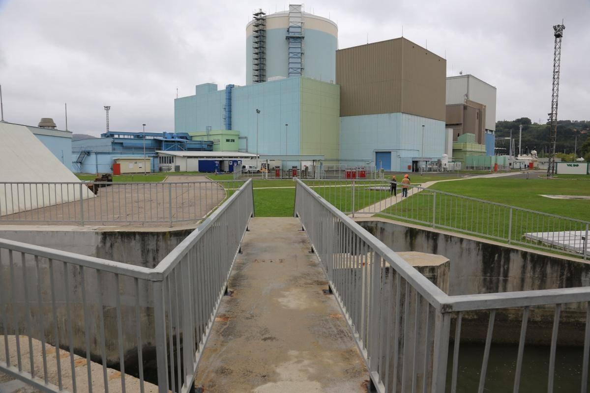 Trenutno krška nuklearka deluje s polovično zmogljivostjo. Foto: Goran Rovan