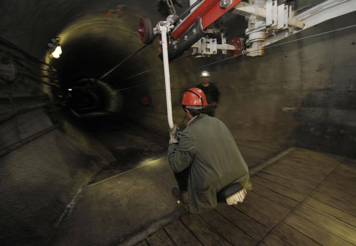 Prizor iz velenjskega premogovnika. Foto: BoBo