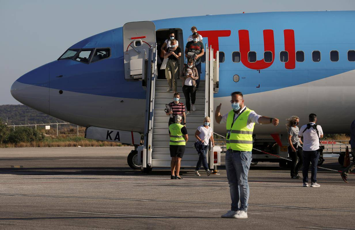 TUI je imel sicer že pred pandemijo težave na hitro razvijajočem se trgu potovanj. Foto: Reuters