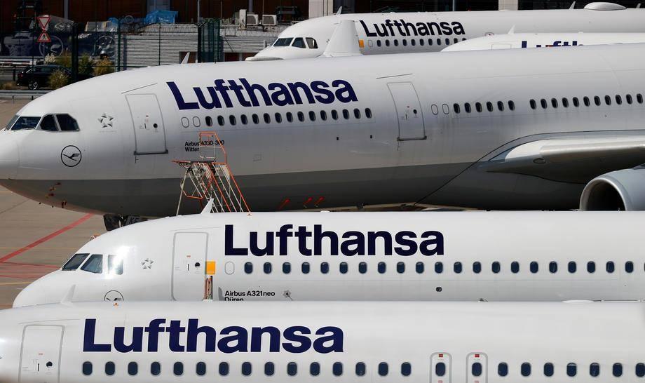 Do konca tretjega četrtletja je družba Lufthansa vknjižila za 5,6 milijarde evrov izgub. Foto: EPA