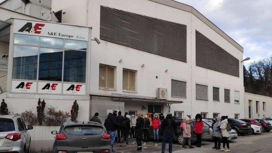 Po besedah sindikalista Davida Ažnoha bodo delavci stavko po 26. januarju zaostrili, če vodstvo ne bo prisluhnilo njihovim zahtevam. Foto: Lidija Cokan/Radio Maribor