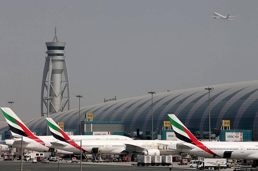 Letališče v Združenih arabskih emiratih. Foto: Reuters