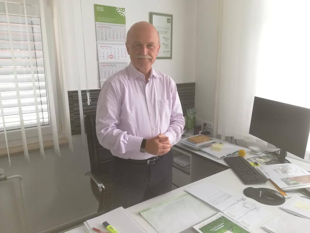 Franc Dover je direktor mariborske Snage in predsednik nadzornega sveta Holdinga Slovenske elektrarne. Foto: Radio Maribor