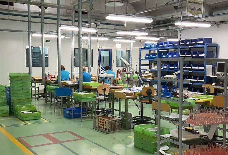 Proizvodnja v podjetju Safilo se bo po napovedih vodstva kmalu ustavila. Foto: Televizija Slovenija