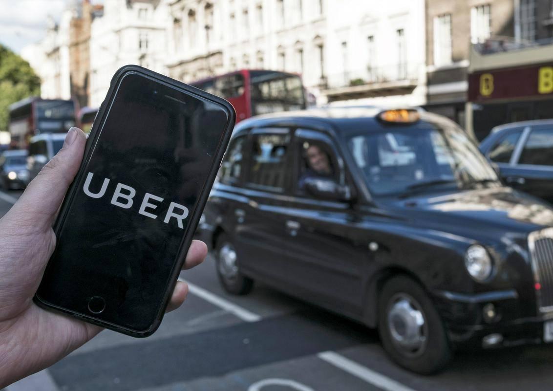 Uber se je do zdaj vedno pritožil na podobne razsodbe. Foto: EPA