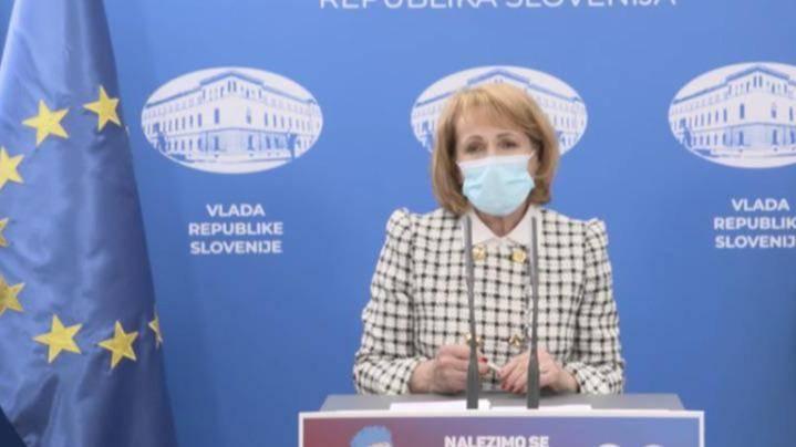 Predsednica Trgovinske zbornice Slovenije Mariča Lah je pozvala k podaljšanju nekaterih ukrepov za pomoč gospodarstvu do konca drugega četrtletja. Foto: Zajem zaslona