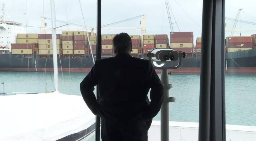V spomin na sprejeto resolucijo o pomorski usmerjenosti Slovenije 7. marca zaznamujemo dan pomorstva. Foto: Televizija Slovenija (zajem zaslona)