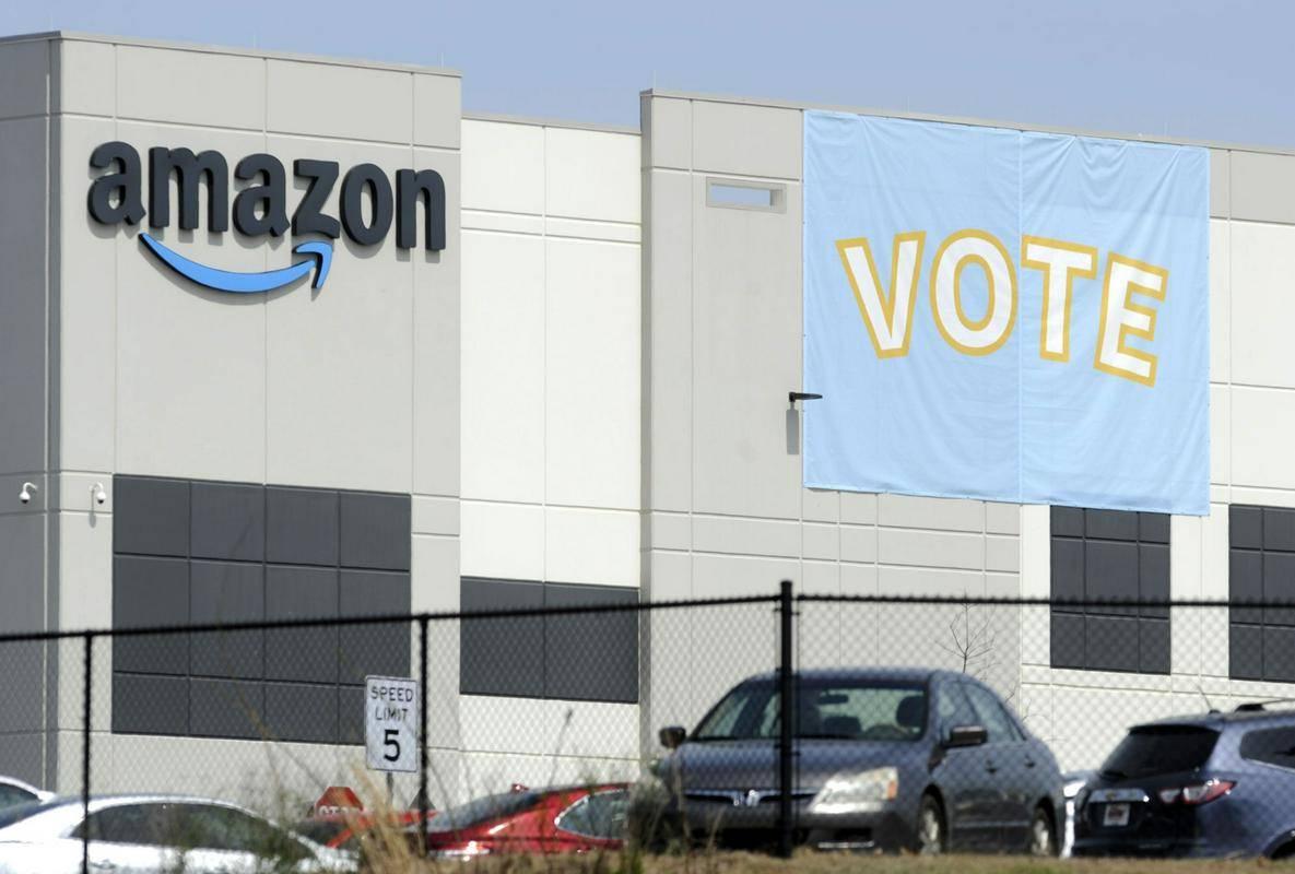 Amazonovo skladišče v Bessemerju. Foto: AP
