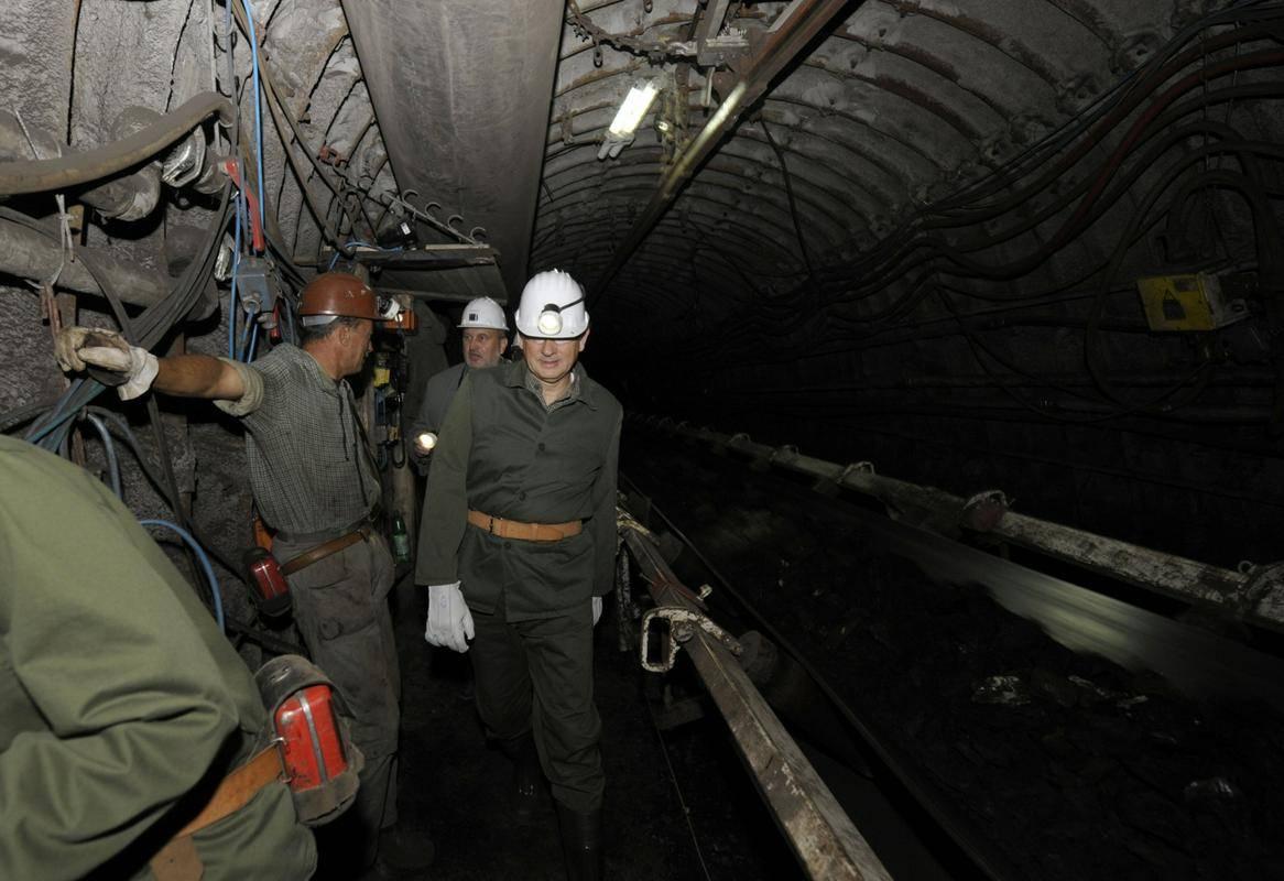 Notranjost velenjskega premogovnika. Foto: BoBo