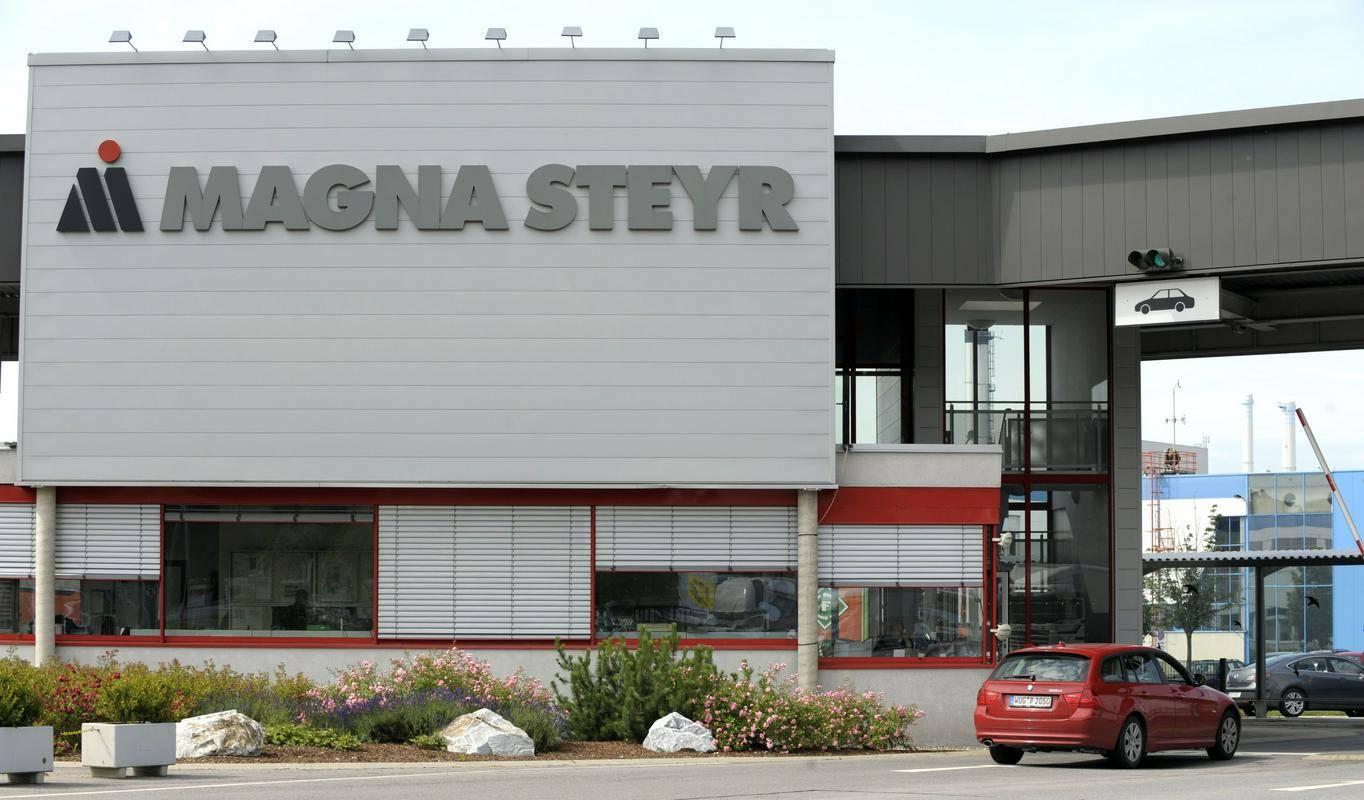 Magna v Gradcu. Foto: EPA