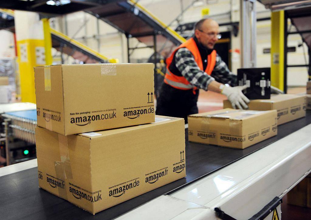 Delavci v Amazonu se pogosto pritožujejo nad neprimernimi delovnimi razmerami. Foto: EPA