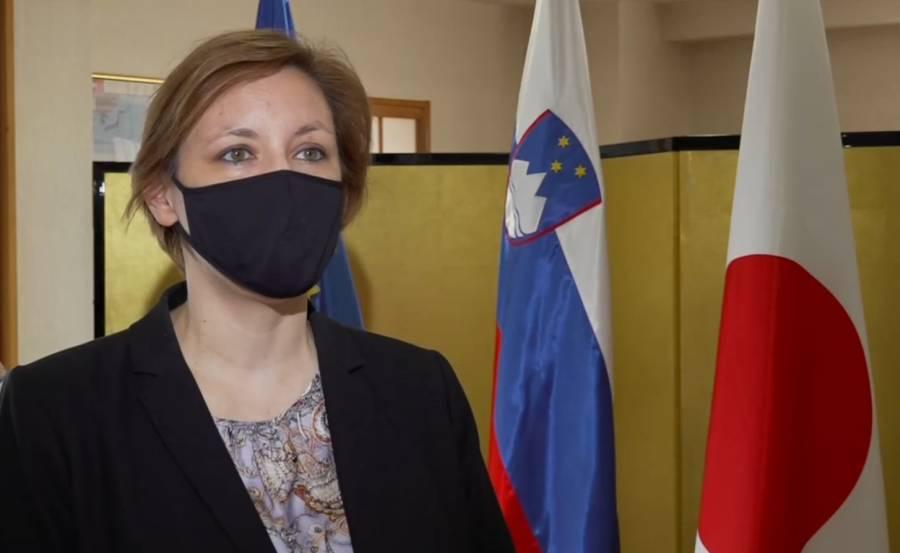 Ana Polak Petrič. Foto: TV Slovenija, zajem zaslona
