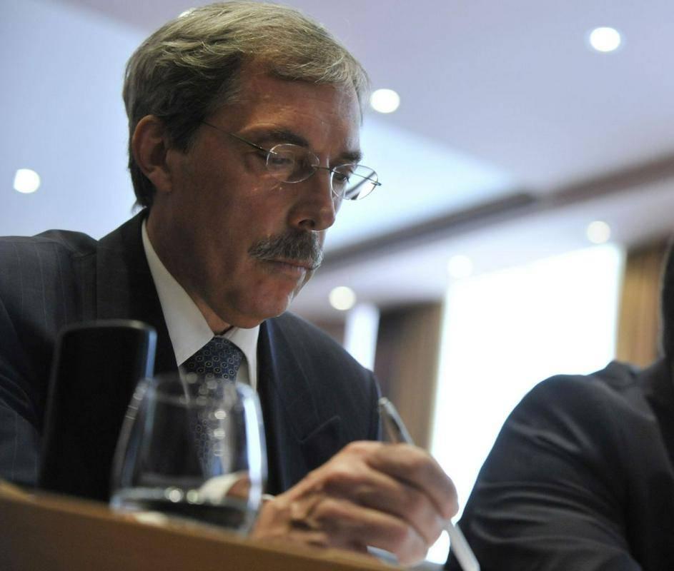 Sibil Svilan je banko vodil 15 let oziroma tri mandate, predtem pa je leto in pol deloval kot član uprave banke. Foto: BoBo/Žiga Živulović ml.