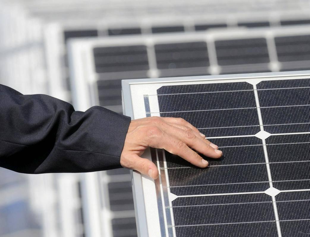 Vas je energetsko samooskrbna skladno z zakonom o spodbujanju rabe obnovljivih virov energije. Foto: BoBo/Bor Slana