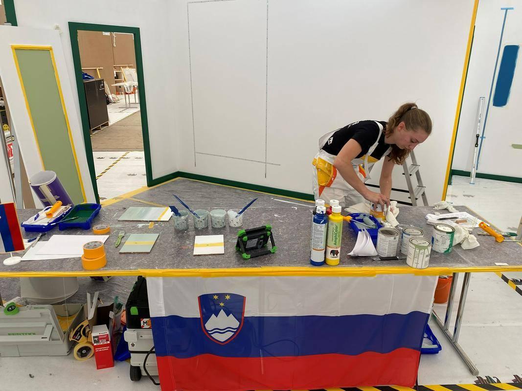 Tekmovanje mladih kvalificiranih profesionalcev praviloma poteka vsaki dve leti, a zaradi koronavirusa je bilo lansko tekmovanje (kot poletne olimpijske igre) prestavljeno na leto 2021. Foto: Televizija Slovenija